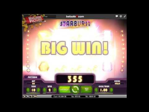 Starburst – MEGA WIN with 20€ BET!