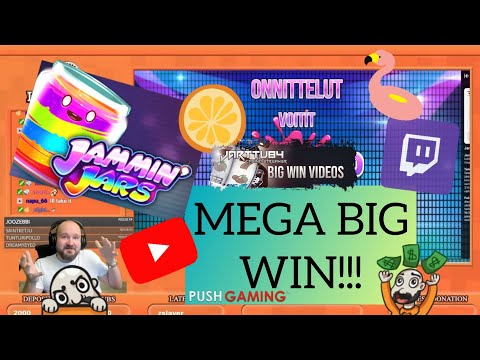 Mega Big Win From Jammin Jars!!!