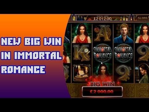 New mega big win in immortal romance. Win slot machine immortal romance from streamer casino online
