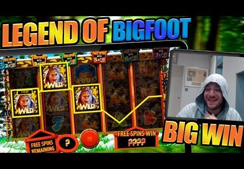 LONGEST BONUS EVER?! BIGFOOT DELIVERS BIG WIN!