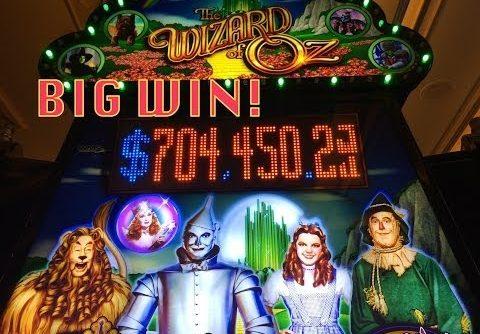 Wizard of Oz Slot Machine-BIG WIN – Flying Monkey Bonus