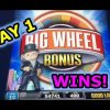 WINNING WEEKEND DAY 1: HANDPAY and other slot wins (in order).