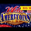 Wild Ameri'Coins Slot – BIG WIN BONUS – BACKUP SPIN SUCCESS!