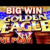 *NEW SLOT* LIVE PLAY | MAX BET GOLDEN EAGLE SLOT MACHINE BIG WIN igt slots