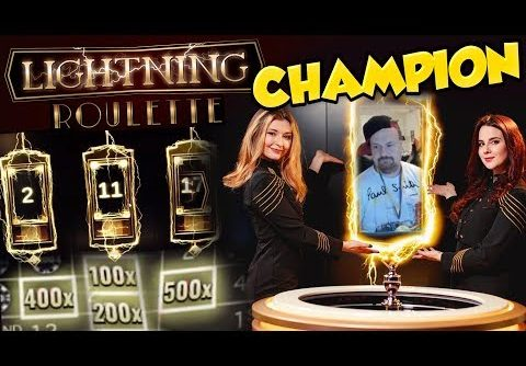 BIG WIN!!! Lightning roulette Huge Win – Casino Games – Slots (table games)