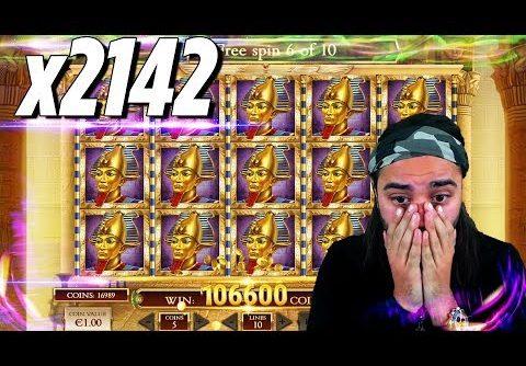 ROSHTEIN RECORD  WIN 107.000€ – Top 5 Biggest Wins of week