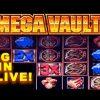 LIVE! – MEGA VAULT SLOT MACHINE – **BIG WIN** – Slot Machine Bonus (Casinomannj)
