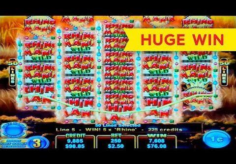 Firestorm Rhino Rumble Slot – HUGE WIN, AWESOME!