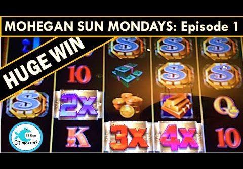 *HUGE WIN* Mega Vault Slot Machine – MOHEGAN SUN MONDAYS