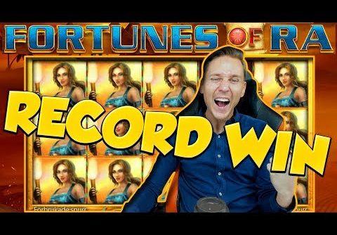 RECORD WIN!! FORTUNES OF RA BIG WIN – Casino Games –  Online slots