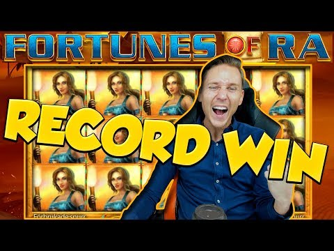 RECORD WIN!! FORTUNES OF RA BIG WIN – Casino Games –  Online slots