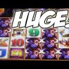 PREDICTING THE HUGE WIN, SOMETIMES YOU JUST KNOW – Buffalo Slot Machine Mega Big Win Bonus