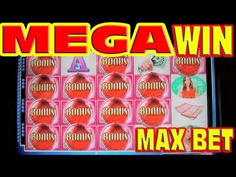 Powerball * MAX BET MEGA BIG WIN * Slot Machine HUGE 95 SPIN BONUS