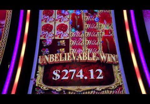 MEGA WIN! Can Can De Paris Slot Machine win aristocrat slot