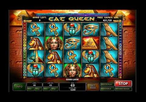 Cat Queen Slot Game Online – BIG WIN – 2018's Best Guide To USA Online Casinos
