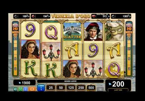 Venezia d'Oro Slot Game – Big Win – Best Online Slot Machines