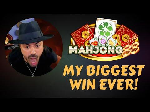 NEW RECORD WIN 129K – X2580 – MAHJONG 88 (Online Slot Game)