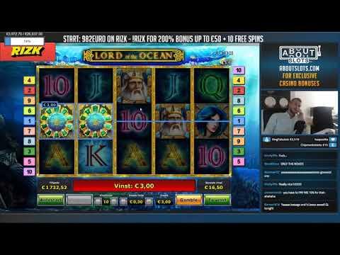 BIG WIN!!!! Lord of the ocean   Casino Games   bonus round Casino Slots From Live Stream