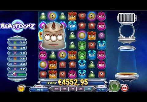 Reactoonz Slot Biggest Win You Ever Seen / Gargantoon, Ultra Big Win And X1600+