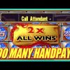 2 MAN(N)Y HANDPAYS! MIGHTY CASH + BIG WINS!! | Slot Traveler