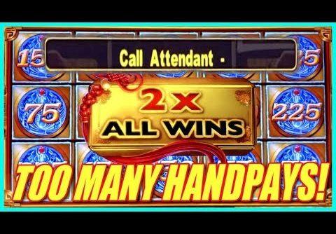 2 MAN(N)Y HANDPAYS! MIGHTY CASH + BIG WINS!! | Slot Traveler
