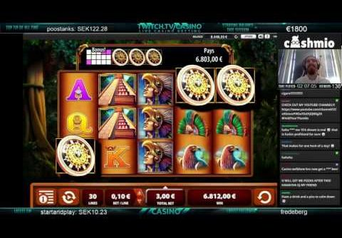 Montezuma slot – My biggest win ever!