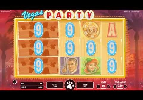 Vegas Party Online Slot – BIG WIN – Play Online Slots for Real Money