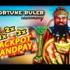 **JACKPOT HANDPAY** – FORTUNE RULER Slot – HUGE MEGA SLOT WIN – Slot Machine Bonus