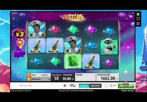 Ticket To The Stars – Slot (Big Win) #Slot