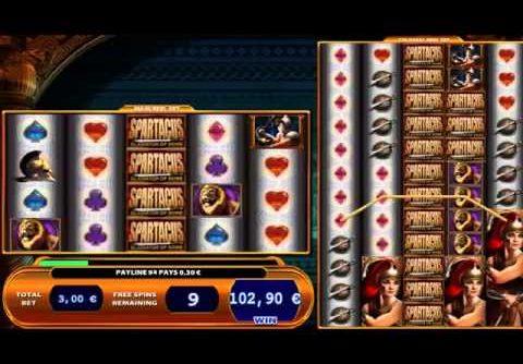 Spartacus Slot MEGA BIG WIN!!!