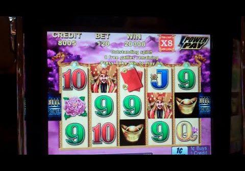 Choy Sun Returns Slot Machine Bonus + Retriggers – 60 Free Spins – MEGA BIG WIN