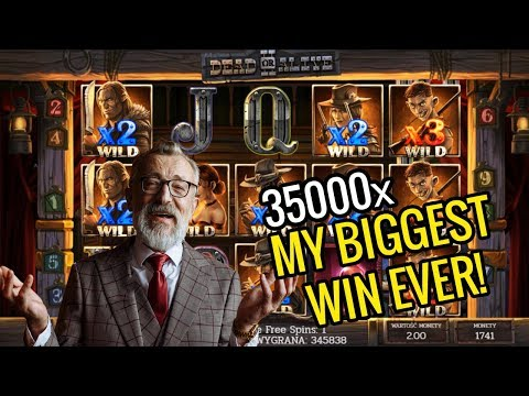 NEW RECORD WIN €300K – X35000 – DEAD OR ALIVE 2 (Online Slot Game)