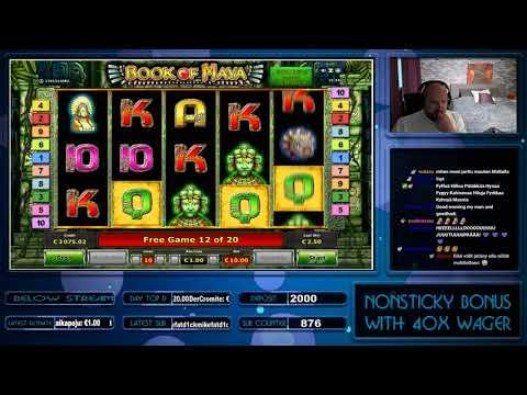 Big Win From Book Of Maya Slot!!!