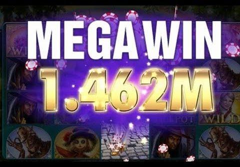 Wizard Of Oz, online casino Slot. Got the Mega Win