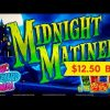 Midnight Matinee Slot – BIG WIN Bonus – $12.50 Max Bet!