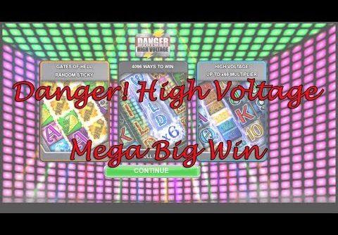 Danger! High Voltage Mega Win   Big Time Gaming   Casumo Casino