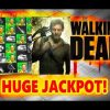 ** MEGA JACKPOT ** The WALKING DEAD slot machine Max Bet BIG JACKPOT HANDPAY WIN!