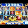 *Super Big Win* on vampires embrace! *Big win bonuses on 88 fortunes 3 reel slot machine*