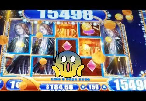 *Super Big Win* on vampires embrace! *Big win bonuses on 88 fortunes 3 reel slot machine*