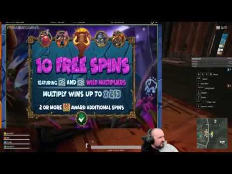 Primal MegaWays Slot Gives Super Big Win!!