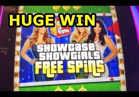 HUGE WIN!! – PRICE IS RIGHT SLOT MACHINE