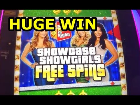HUGE WIN!! – PRICE IS RIGHT SLOT MACHINE