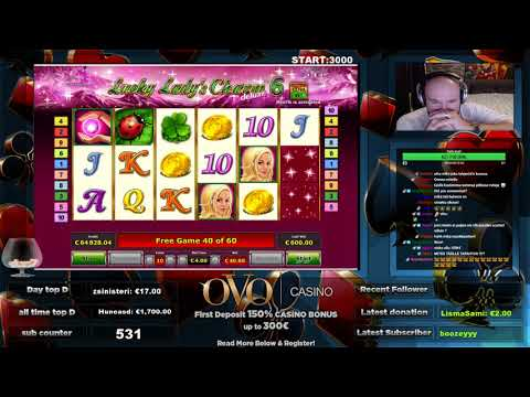 LUCKY LADY CHARM 6 BIGGEST WIN YOUTUBE!! MONSTER HIT!! BIGGEST EVER!!