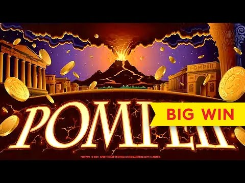 Wonder 4 – Pompeii Slot – BIG WIN Bonus!