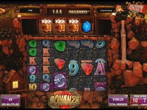 Bonanza Slot (BTG) 17 Spins MEGA WIN!