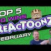 🔝 TOP 5 big wins on ReactoonZ slot by Play'n Go vol 2. Gargatoon!