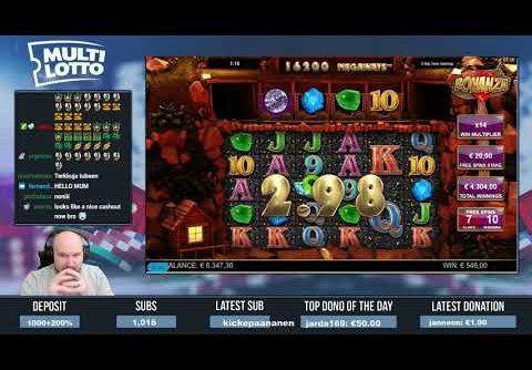 Big Bet!! Really Big Win From Bonanza Slot!!