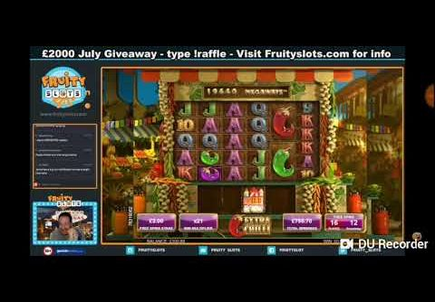 OMG record chilly slot 37x multiplier!!! Monster win!!