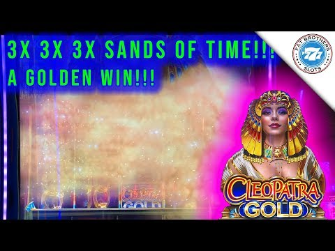 SHORT & SWEET!!! Cleopatra Gold Slot by IGT! BIG WIN FREE GAMES! Super Fun Session!