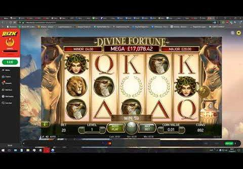 Biggest Win On  Rizk Ever! Divine Fortune Slot –   Rizk Casino